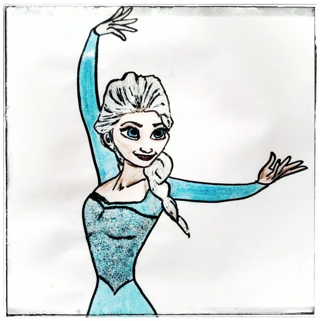 Elsa, DIY Elsa