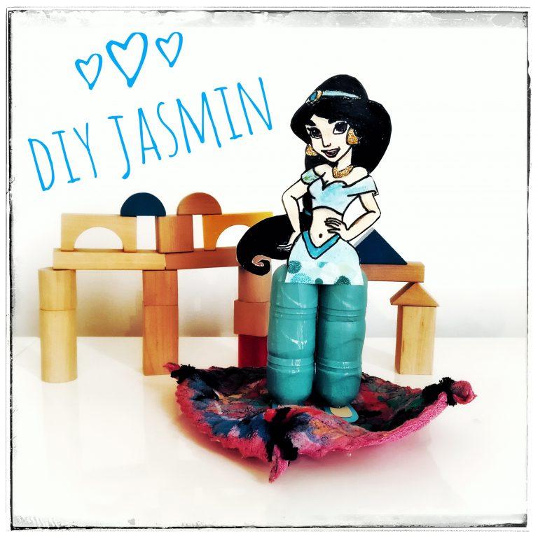 Jasmin, DIY, basteln, selbermachen, Ü-EI, Überraschungsei, Upcycling, Disney, Prinzessin