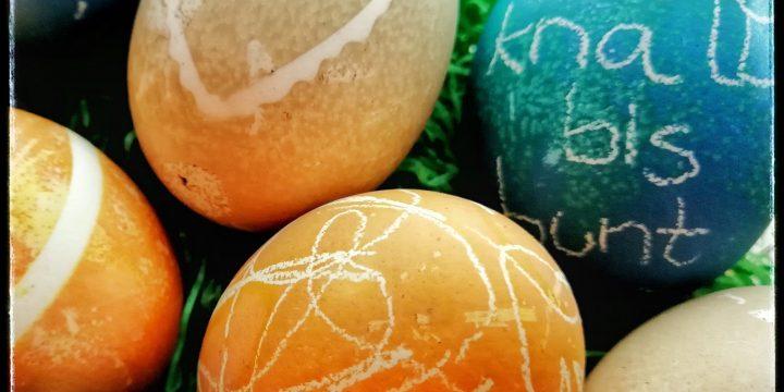 Eier färben – nach bunt kommt lecker