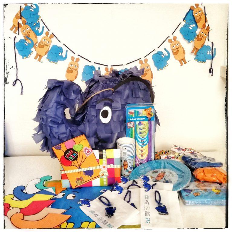 Pinata, Kindergeburtstag, Elefantenparty, Partyorganisation