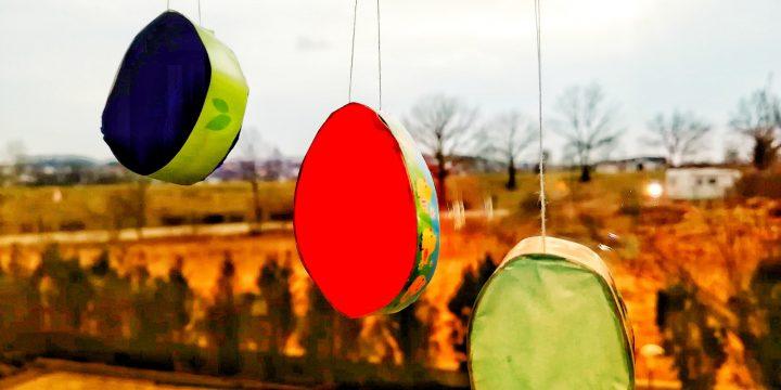 Schnelles und einfaches Oster-DIY aus Klopapierrolle