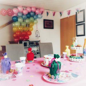 Trollsparty, Kindergeburtstag, Trolls, Luftballons
