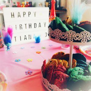 Trollsparty, Trolls, Kindergeburtstag, Kuchen