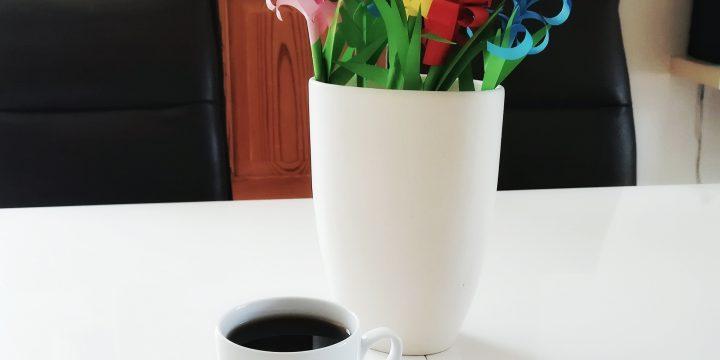Papierblume basteln – Die 5-Minuten-Hyazinthe