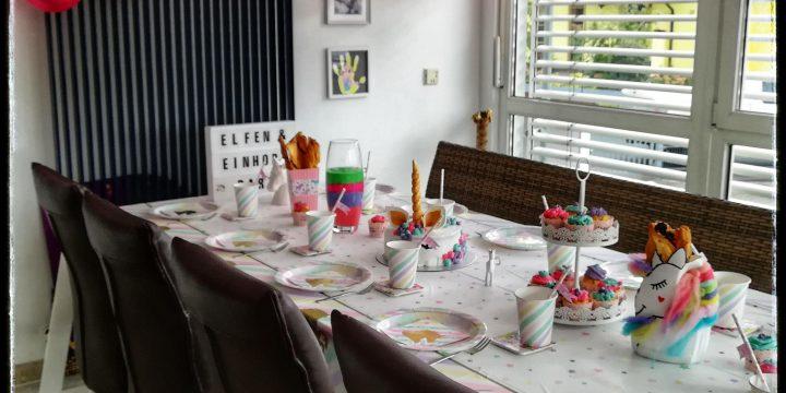 """Kindergeburtstag """"Elfen-und Einhornparty"""""""