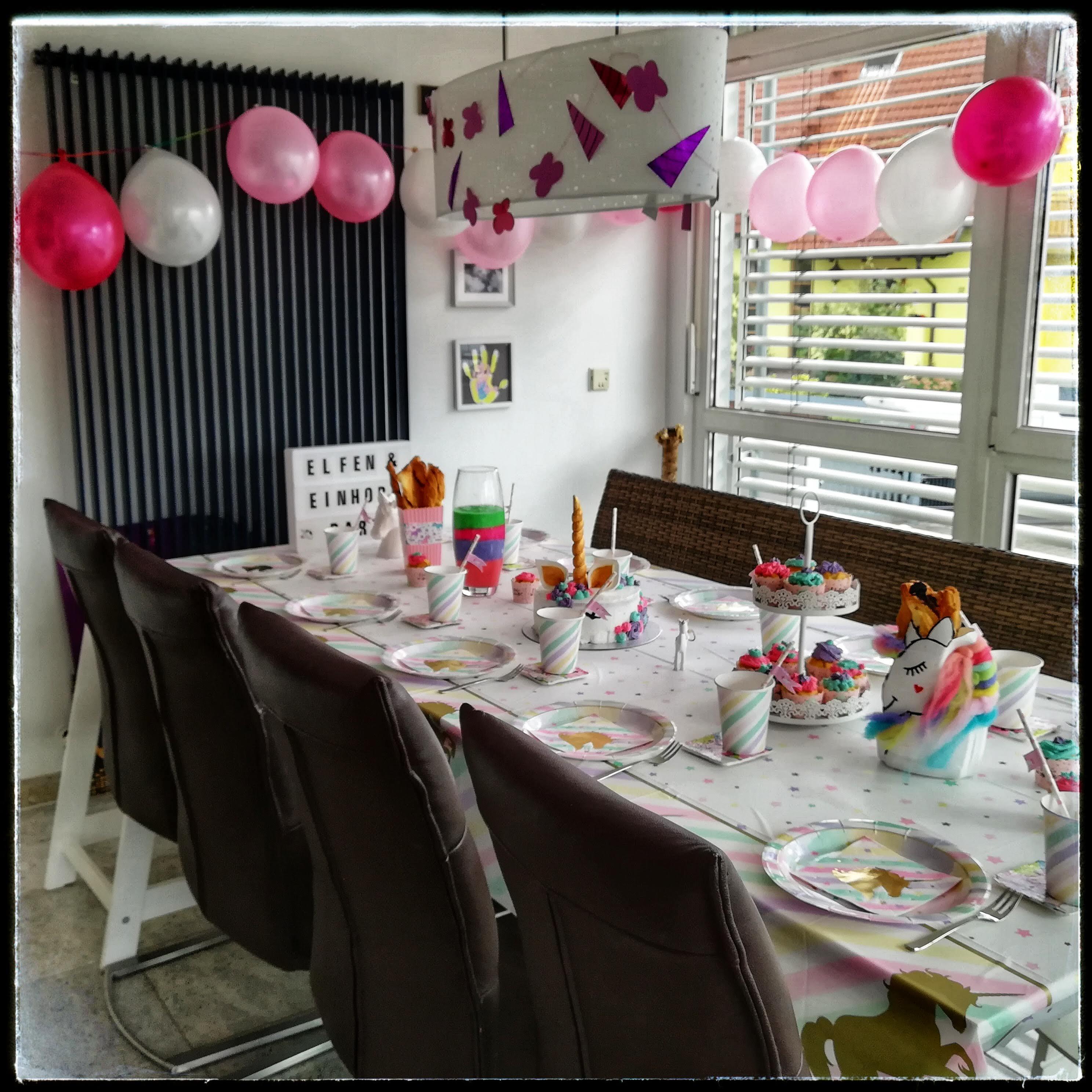 Kindergeburtstag Elfen Und Einhornparty Von Knall Bis Bunt