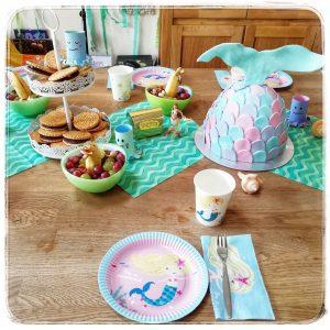 Mottoparty, Meerjungfrauen, Meerjungfrau, Kindergeburtstag, Meerjungfrauenparty, Meerjungfrauengeburtstag