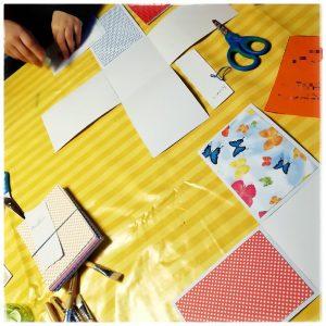 Bastelparty, Kindergeburstag, Bastelgeburtstag, Bastelmotto, Mottoparty, Mottogeburtstag, Exploding Box DIY, Basteln, Einladung