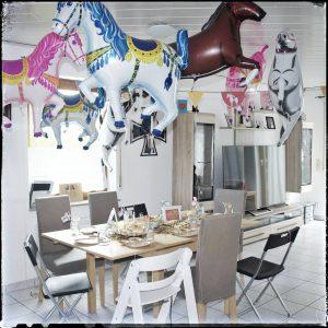 Geburtstagsparty, Kindergeburtstag, Mottoparty, Pferdeparty, Pferde, Hexen, Partydeko, Partyspiele,
