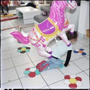 Geburtstagsparty, Kindergeburtstag, Mottoparty, Pferdeparty, Pferde, Hexen, Partydeko, Partyspiele, pferdeparcours