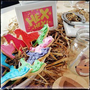 Bibi, Tina, Geburtstagsparty, Kindergeburtstag, Mottoparty, Pferdeparty, Pferde, Hexen, Partydeko, Partyspiele, Pferdekekse