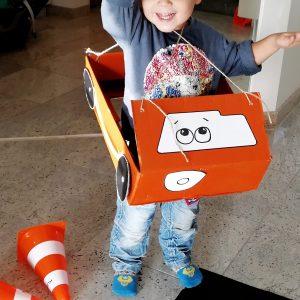 Autoparty Kindergeburtstag Autos Diy basteln
