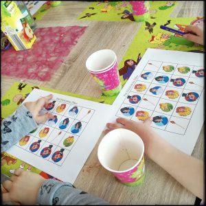 Bibi Blocksberg Bingo Kindergeburtstag Party Spiel