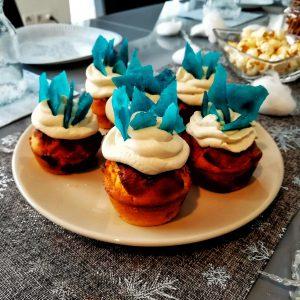 Elsa Party Kristallmuffins