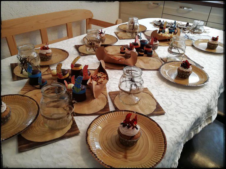 Tischdekoration Kindergeburtstag Wilder Westen Cowboys
