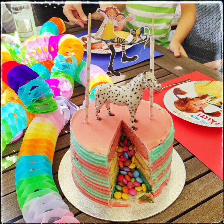 Pippi Langstrumpf Kindergeburtstag Kuchen
