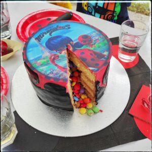 Miraculous Kuchen Kindergeburtstag
